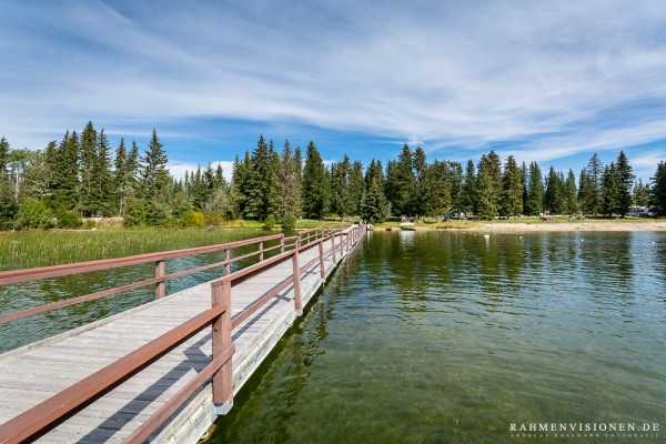 Steg am Lac Le Jeune