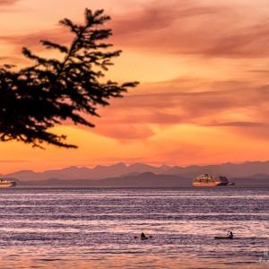 Bates Beach Sunset