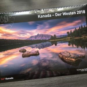 """""""Kanada - Der Westen 2018""""-Kalender"""