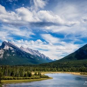 Vermillion Lakes View