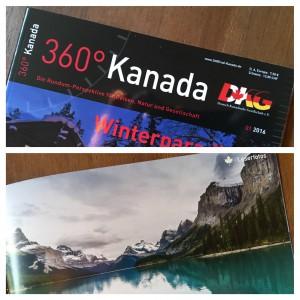 """""""Maligne Lake"""", 360 Grad Kanada, Ausgabe 01/2016"""