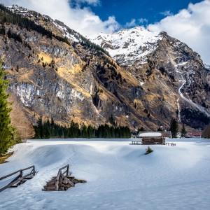 Schnee im Oytal