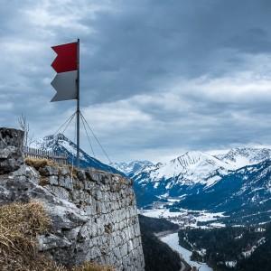 Festung Schlosskopf, Österreich