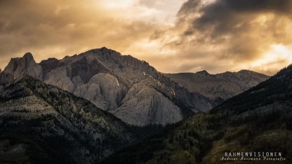 Sonnenaufgang in den Rockies