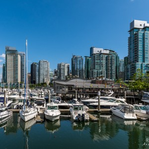 Vancouver Yacht-Hafen