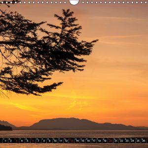 Kalender Oktober Kanada - So wild. So schön.