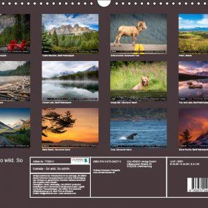 Kalender Index Kanada - So wild. So schön.