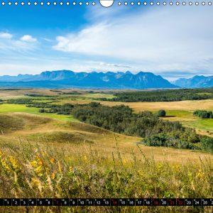 Kalender April Kanada - So wild. So schön.