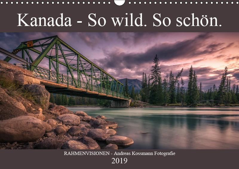 Kalender Deckblatt Kanada - So wild. So schön.